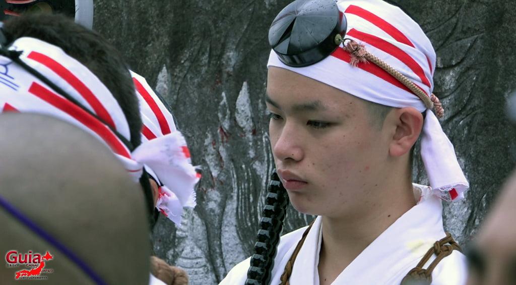 เทศกาล Kashyouzanmai (ไฟศักดิ์สิทธิ์) Toyohashi 12