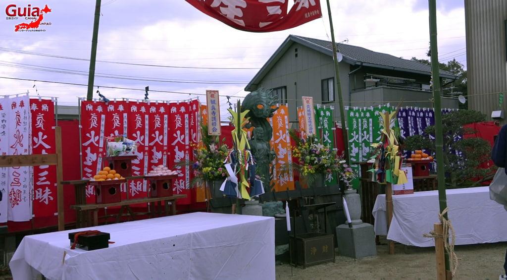 Festival Kashyouzanmai (Fuego Sagrado) Toyohashi 16