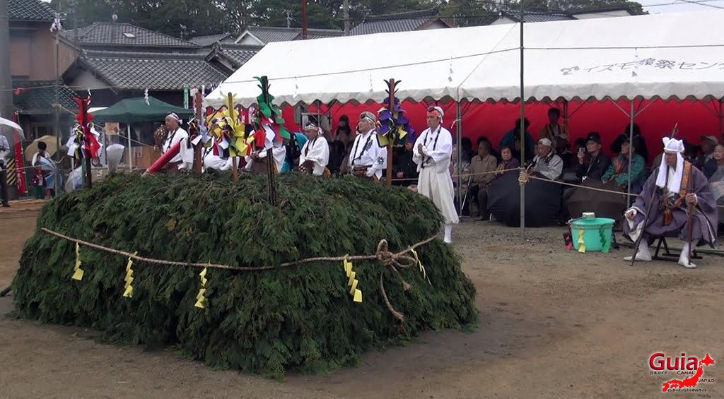 เทศกาล Kashyouzanmai (ไฟศักดิ์สิทธิ์) Toyohashi 19