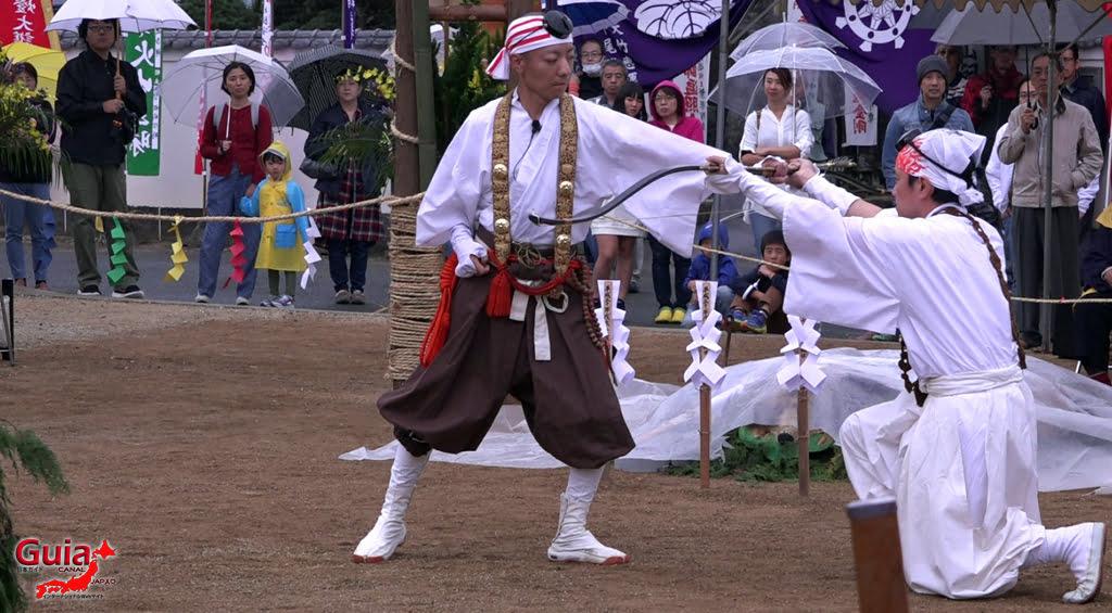 เทศกาล Kashyouzanmai (ไฟศักดิ์สิทธิ์) Toyohashi 21