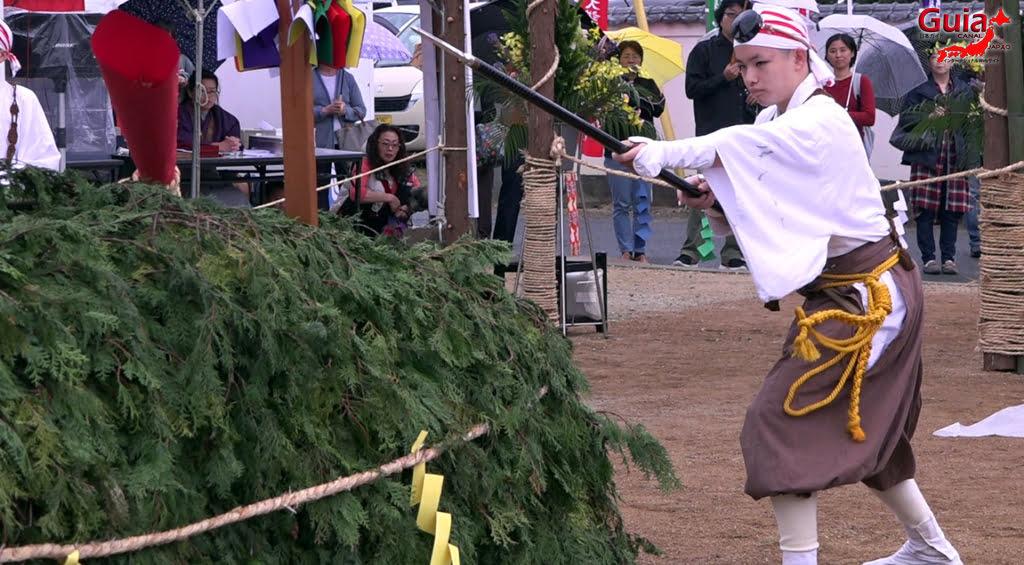เทศกาล Kashyouzanmai (ไฟศักดิ์สิทธิ์) Toyohashi 24