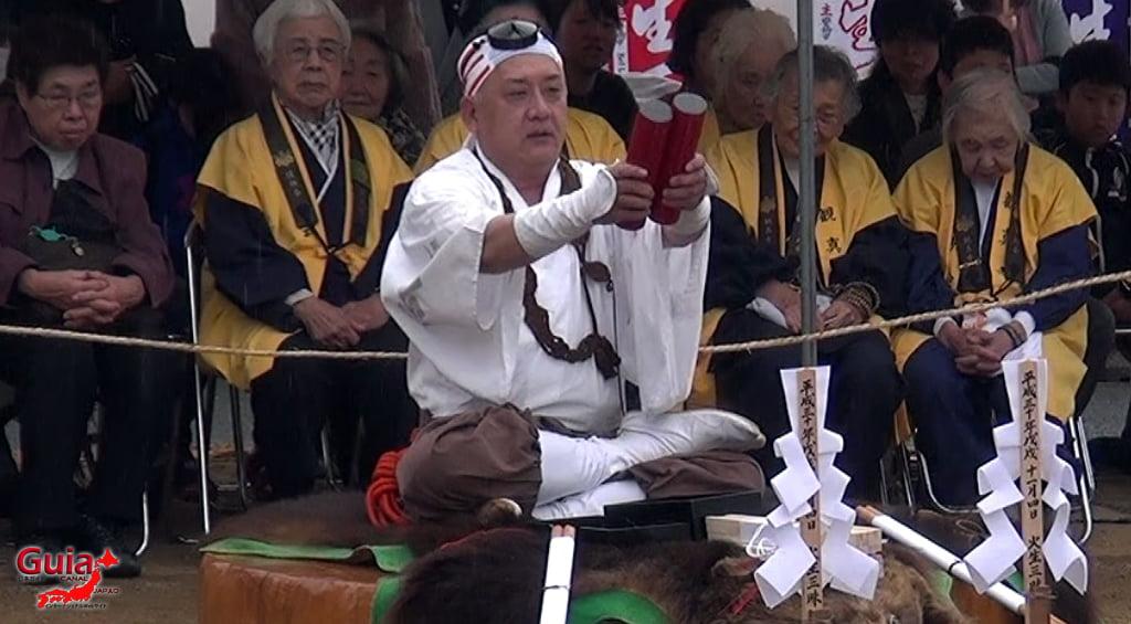 เทศกาล Kashyouzanmai (ไฟศักดิ์สิทธิ์) Toyohashi 25
