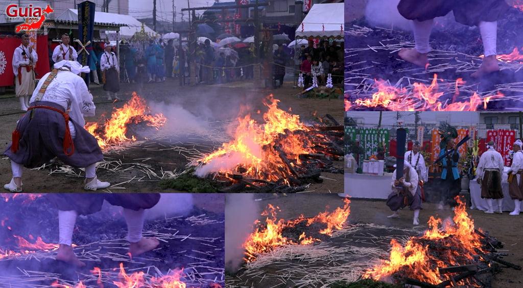 เทศกาล Kashyouzanmai (ไฟศักดิ์สิทธิ์) Toyohashi 33