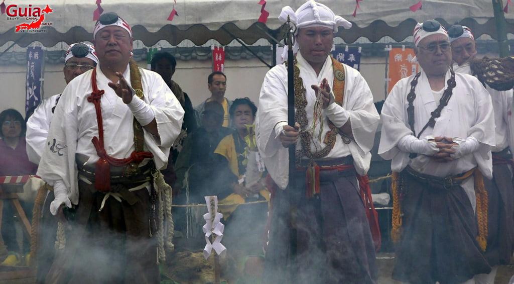 เทศกาล Kashyouzanmai (ไฟศักดิ์สิทธิ์) Toyohashi 34