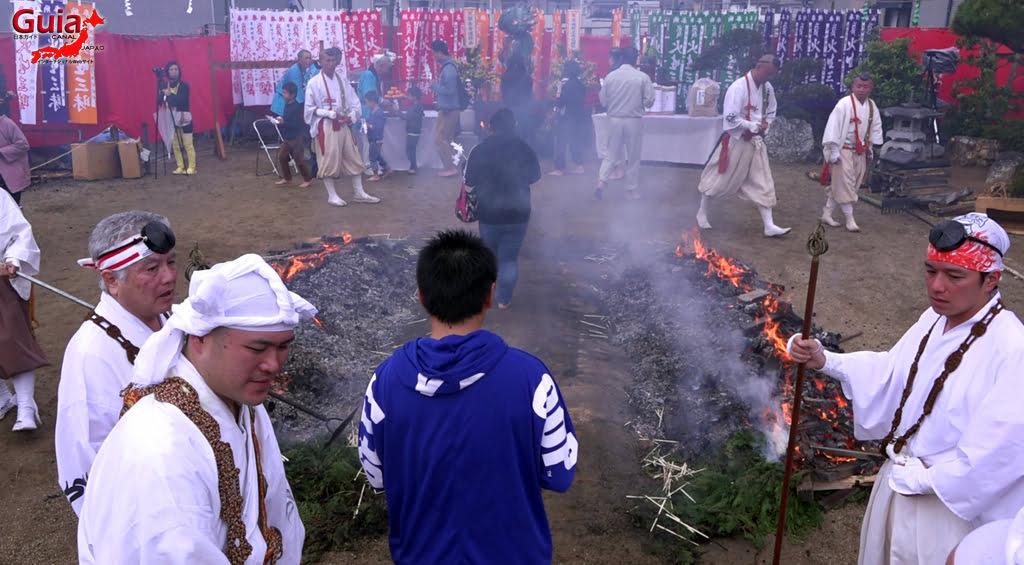 เทศกาล Kashyouzanmai (ไฟศักดิ์สิทธิ์) Toyohashi 36