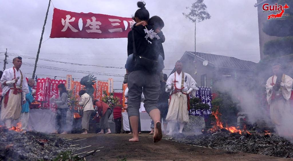 เทศกาล Kashyouzanmai (ไฟศักดิ์สิทธิ์) Toyohashi 37