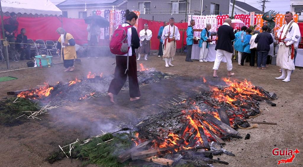 Festival Kashyouzanmai (Fuego Sagrado) Toyohashi 41