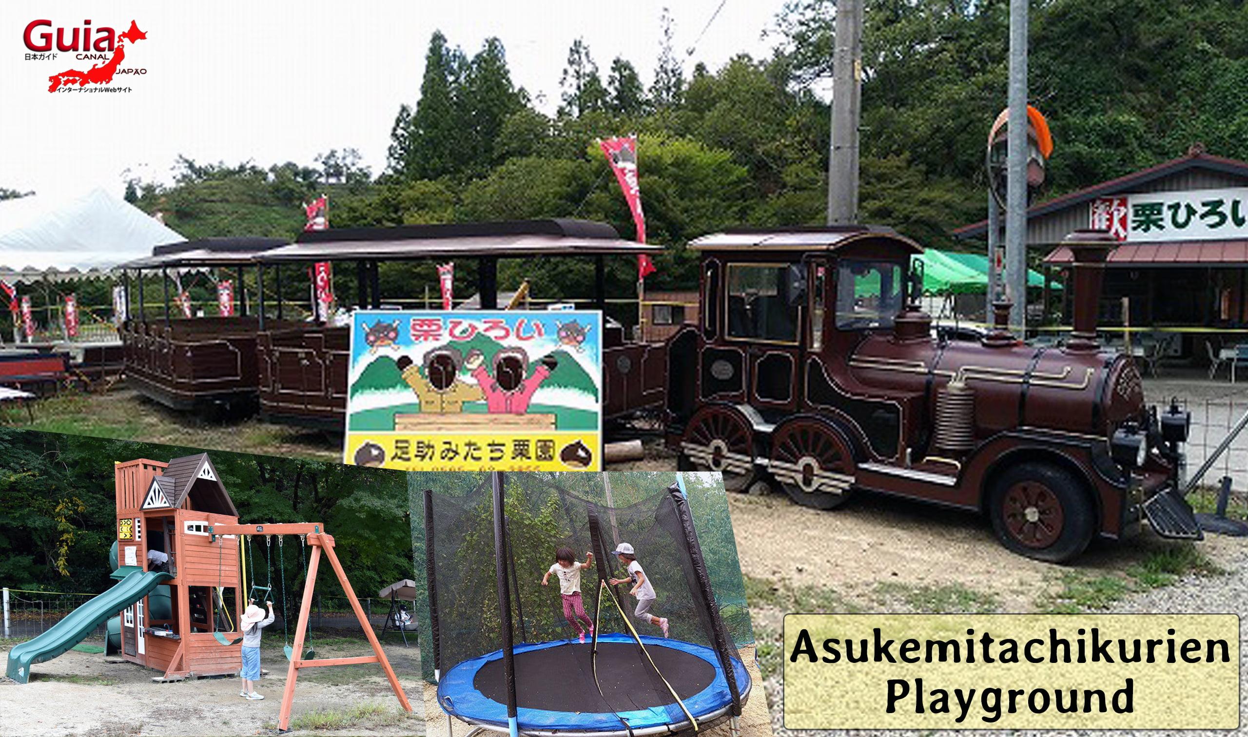 Asukemitachikurien - Colhendo Castanhas 33