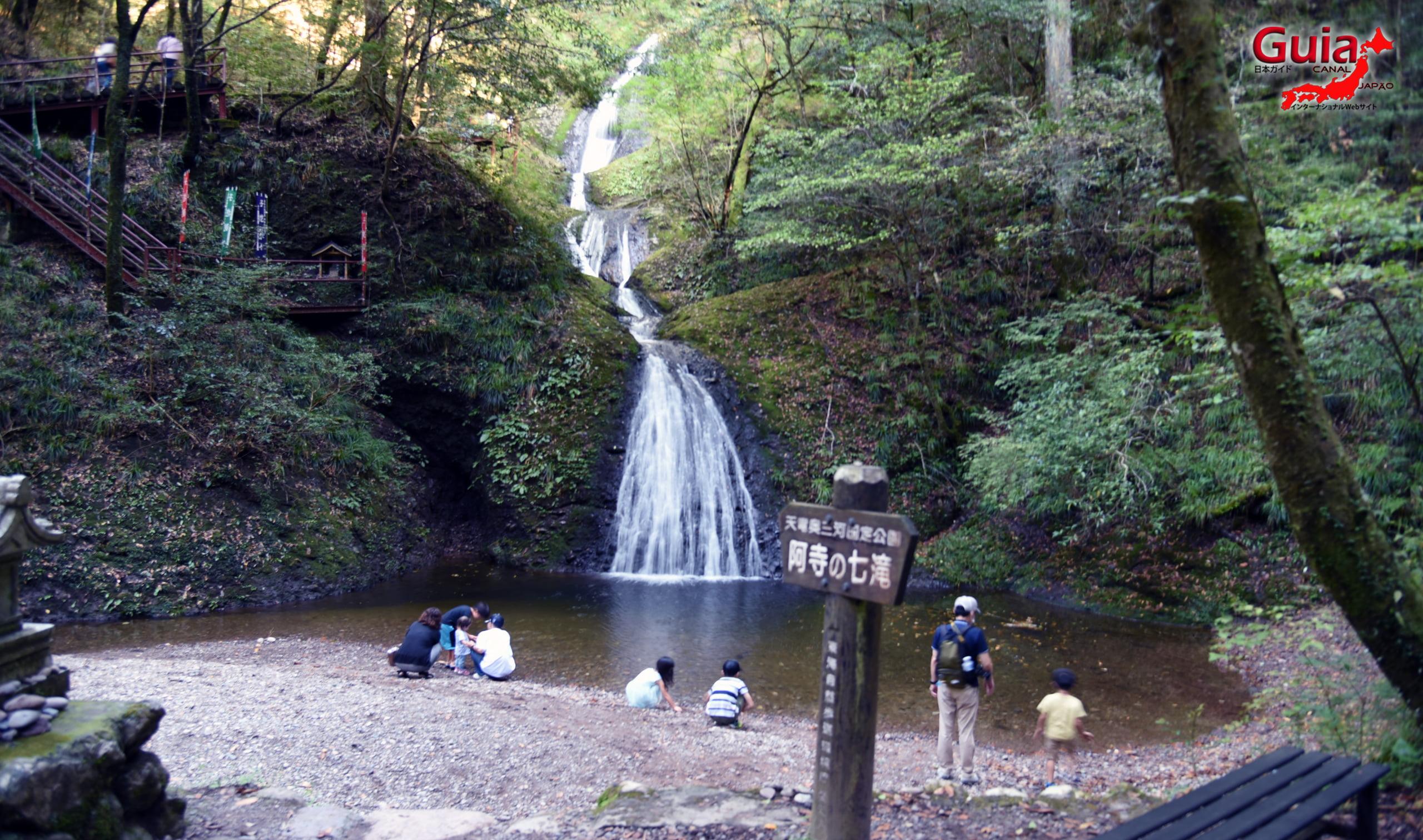 Sete Cachoeiras de Atera (Nanataki) 6