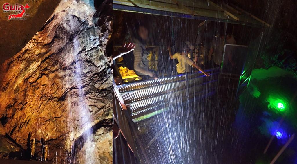 Cachoeira Dourada da Caverna Ryugashido 5