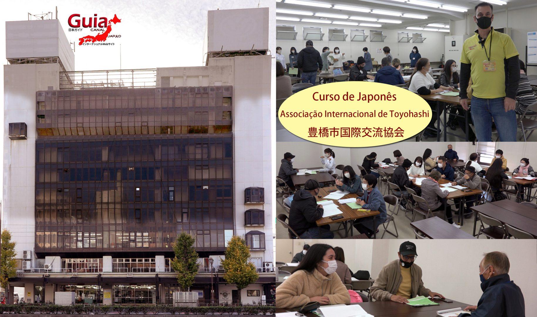 Curso de Japonês Gratuito da Associação Internacional de Toyohashi 1