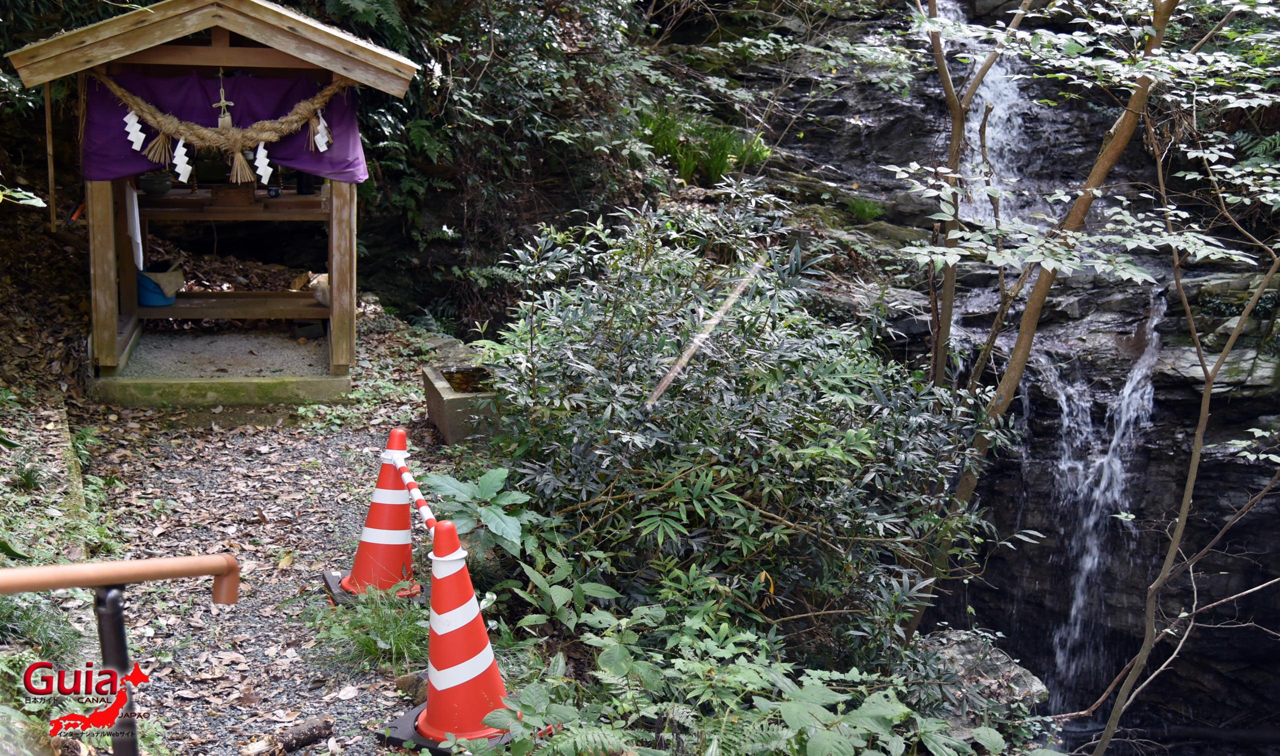 Ibumi waterfall in Gofudou Sama 1