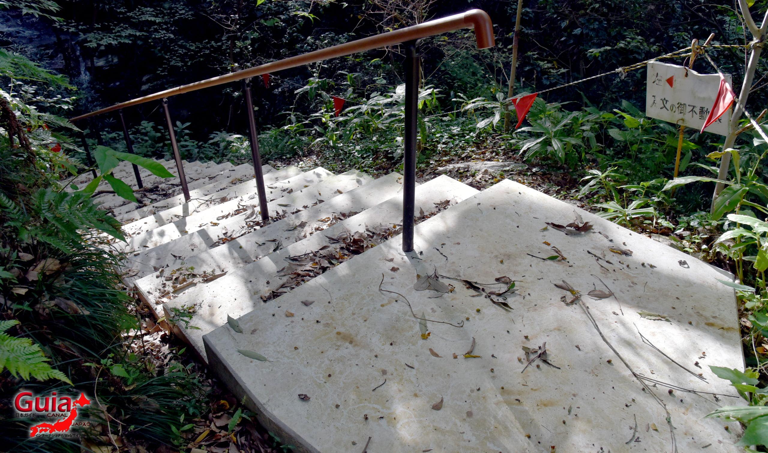 Ibumi waterfall in Gofudou Sama 9