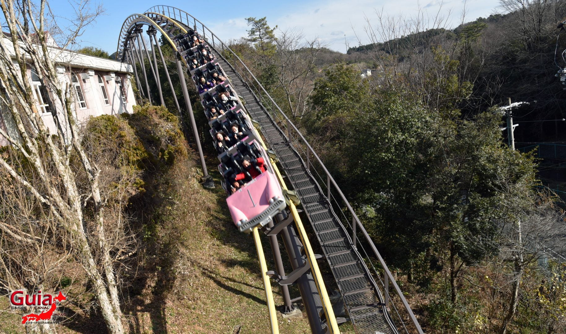 Parco dei divertimenti - Japan Monkey Park 8