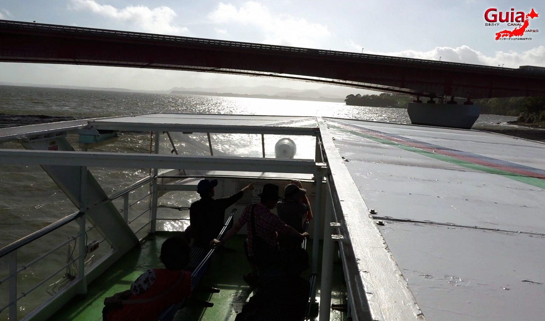 Navio de Cruzeiro do Lago Hamana de Hamanako 4