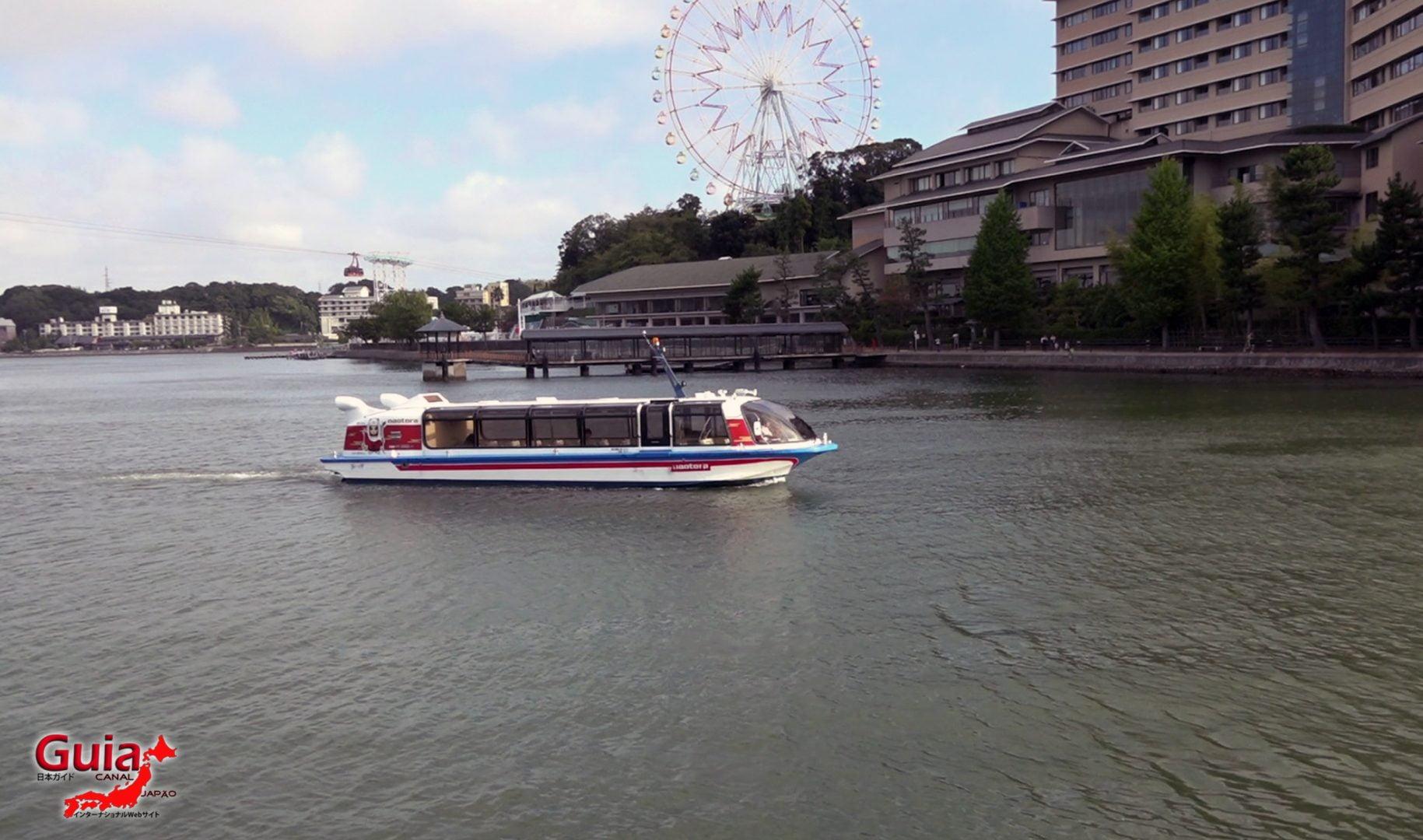 Navio de Cruzeiro do Lago Hamana de Hamanako 6