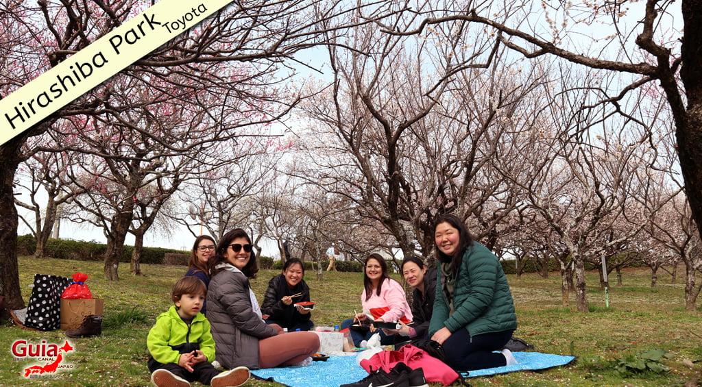 Galeria de fotos de Estrangeiros nos Jardim de Flores de Ameixa (Ume) 1