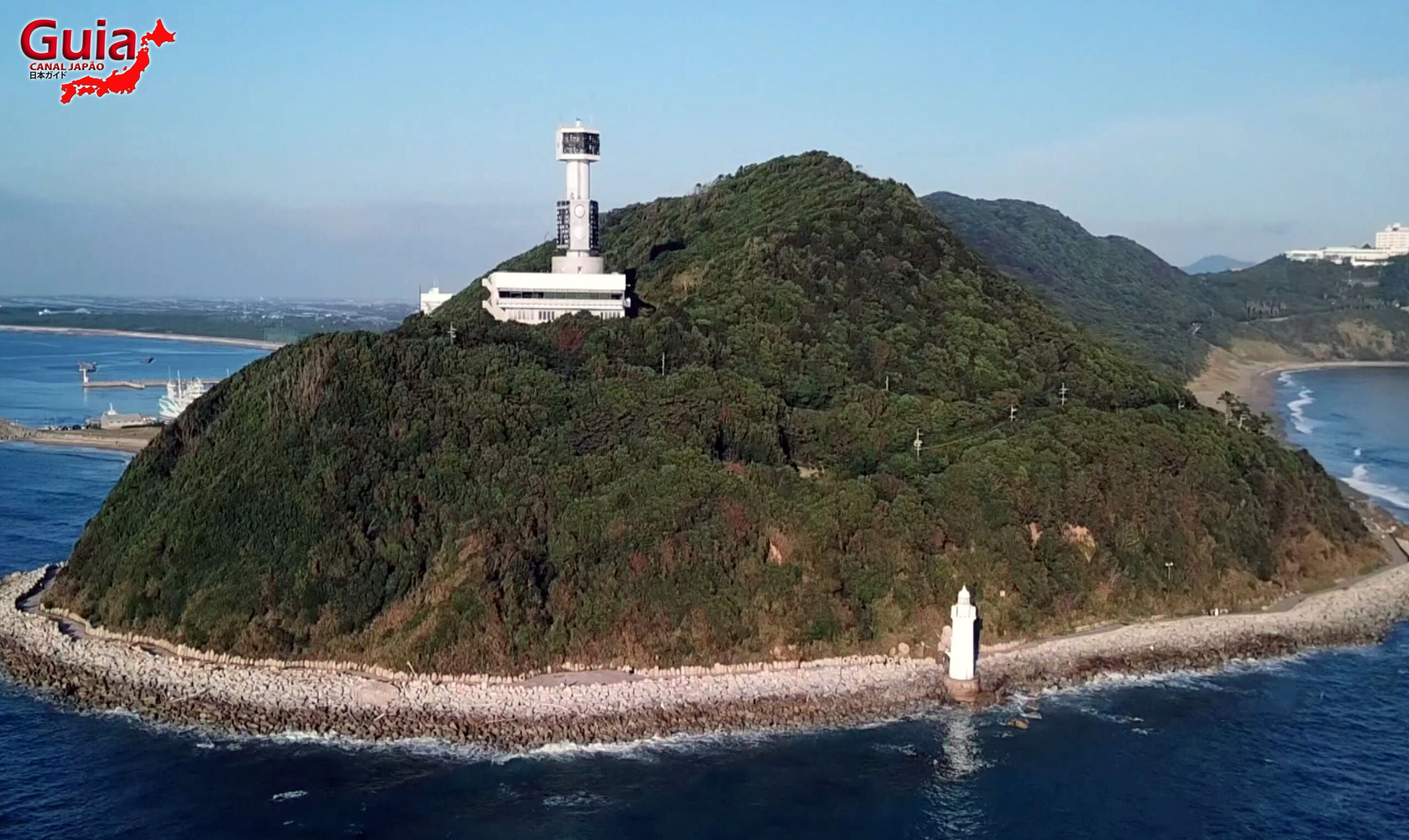Praia Koijigahama, Farol do cabo Irago, Santuário do Amor e a Pedra de Hiji 13