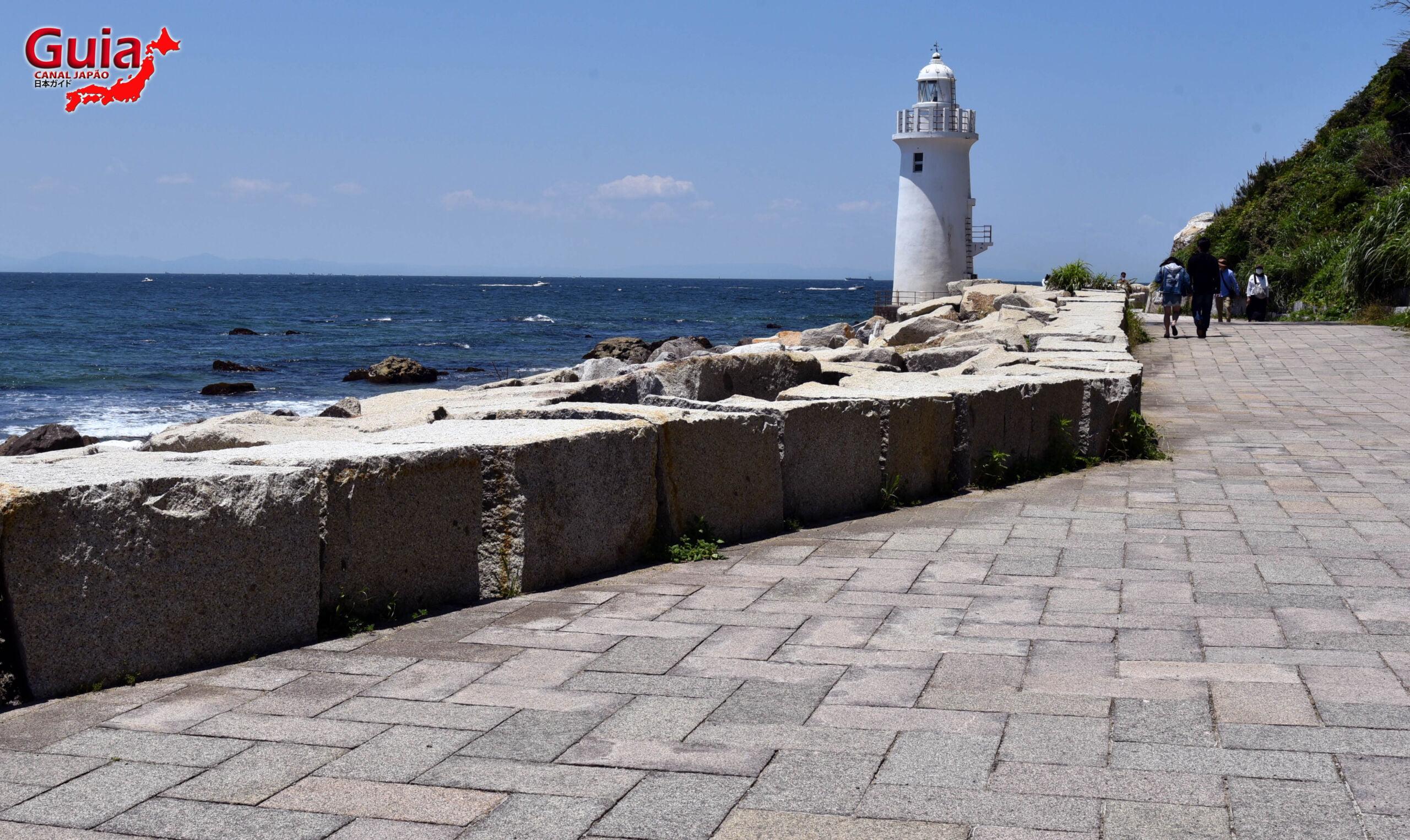 Praia Koijigahama, Farol do cabo Irago, Santuário do Amor e a Pedra de Hiji 16