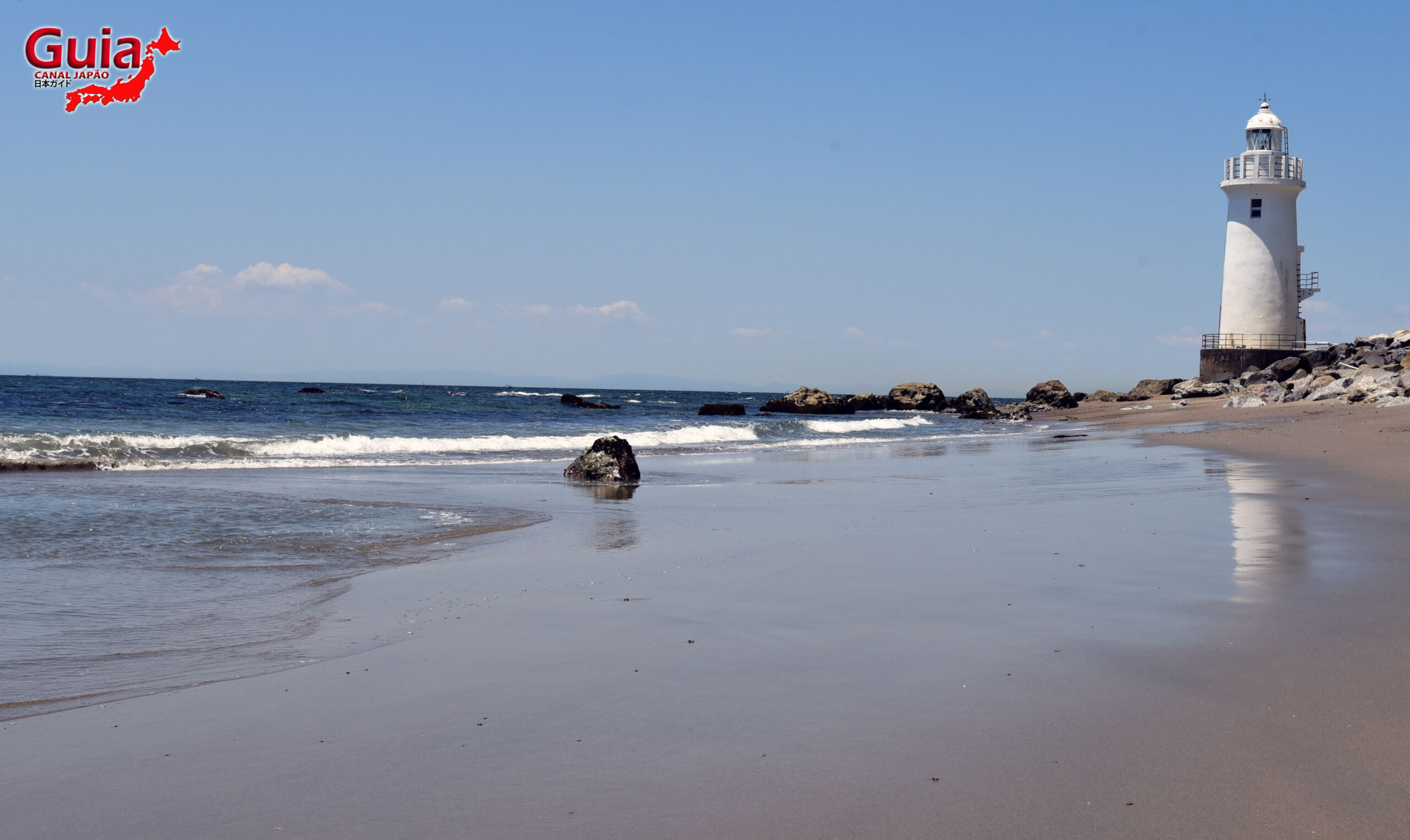 Praia Koijigahama, Farol do cabo Irago, Santuário do Amor e a Pedra de Hiji 23