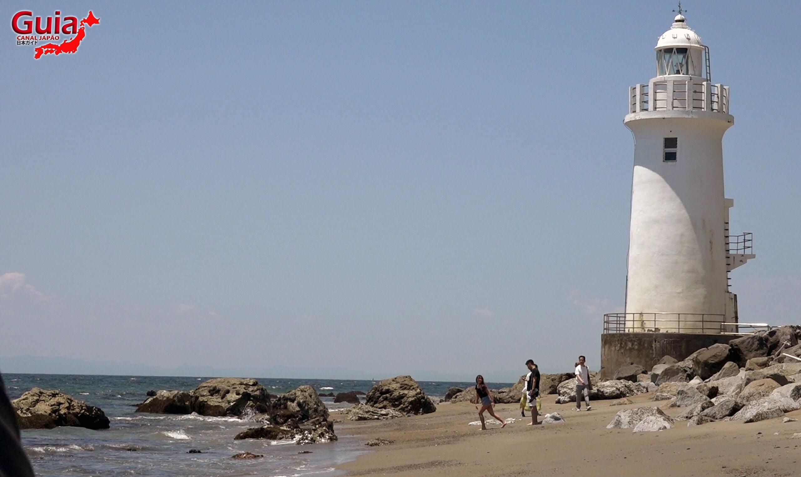 Praia Koijigahama, Farol do cabo Irago, Santuário do Amor e a Pedra de Hiji 27