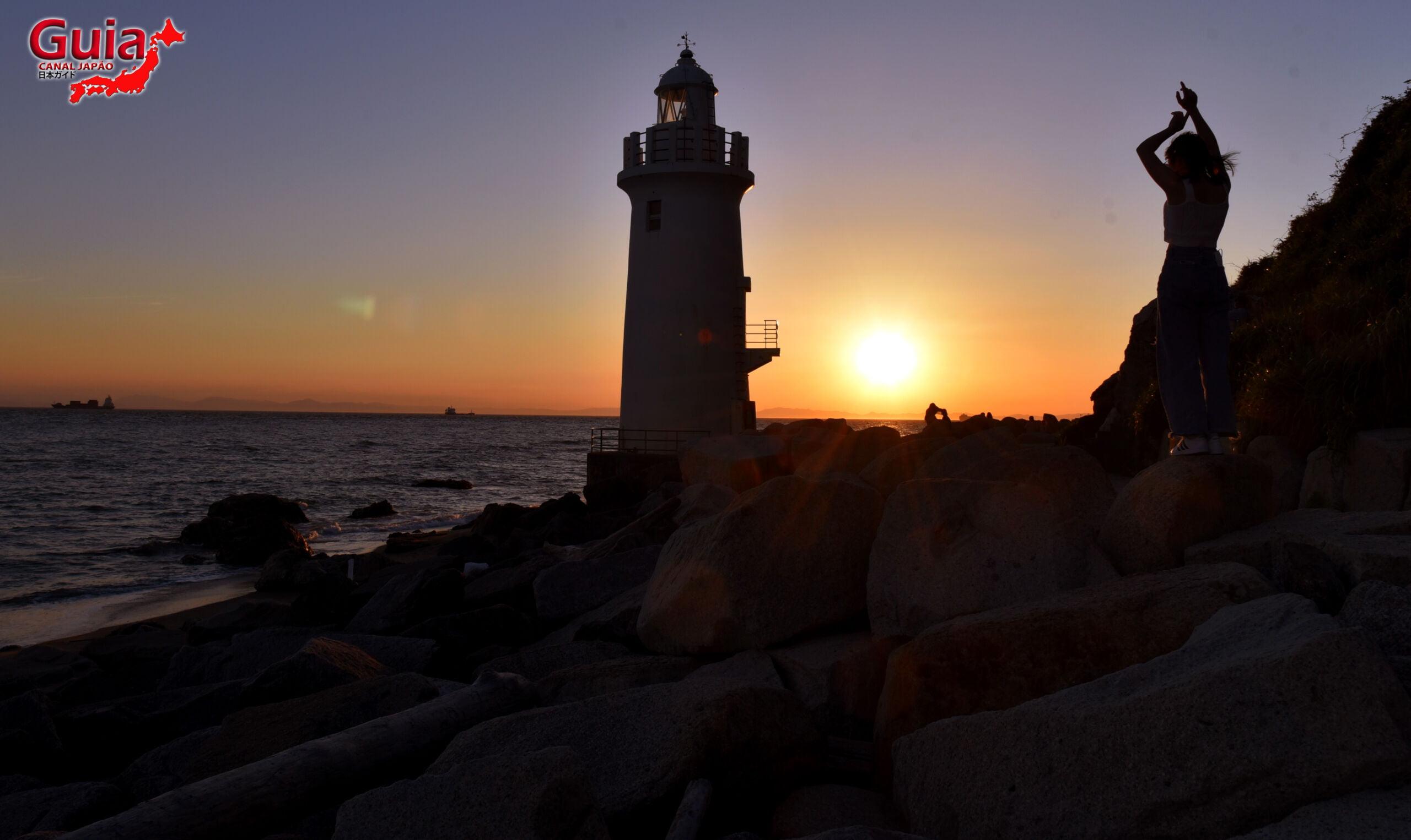 Praia Koijigahama, Farol do cabo Irago, Santuário do Amor e a Pedra de Hiji 31