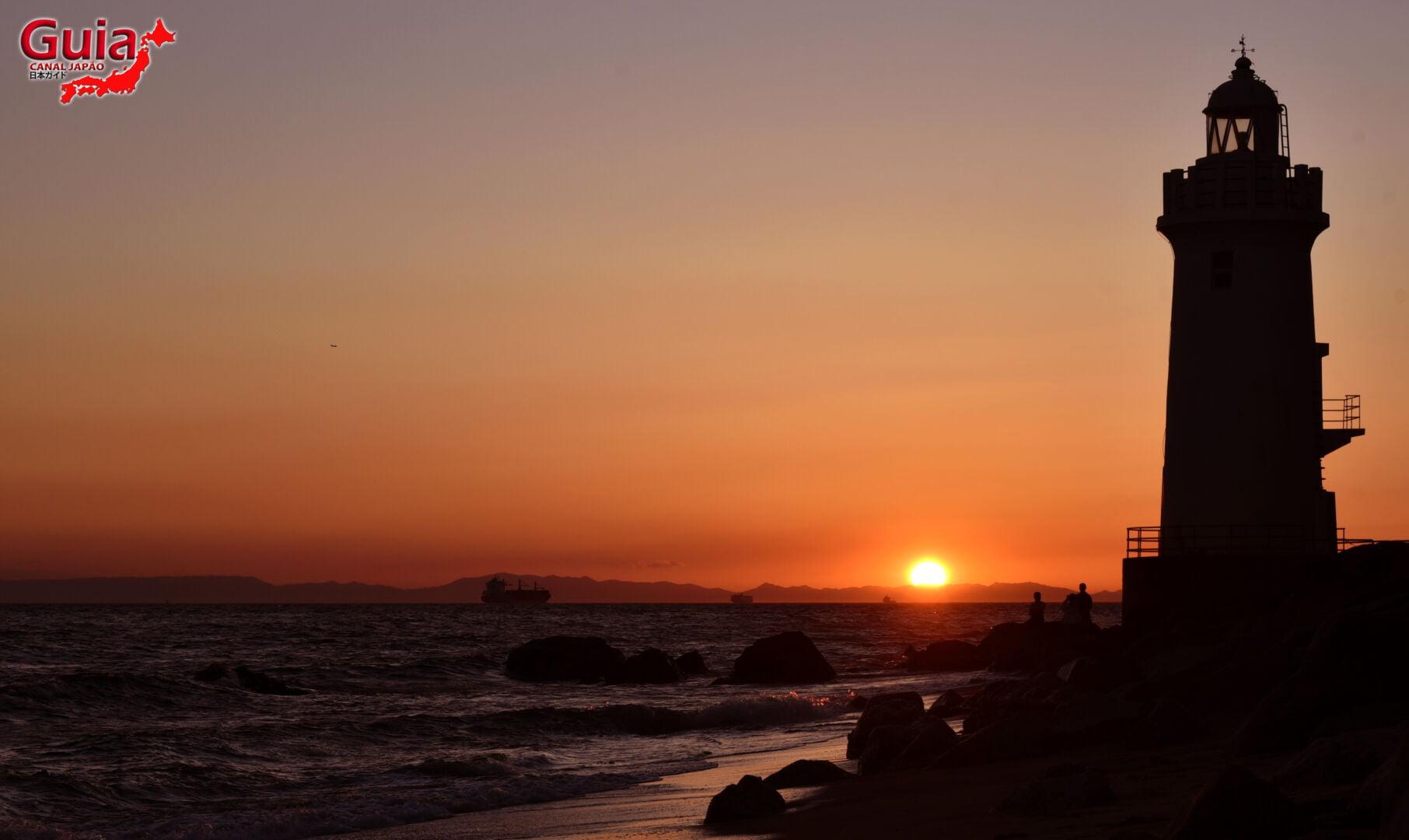 Praia Koijigahama, Farol do cabo Irago, Santuário do Amor e a Pedra de Hiji 34