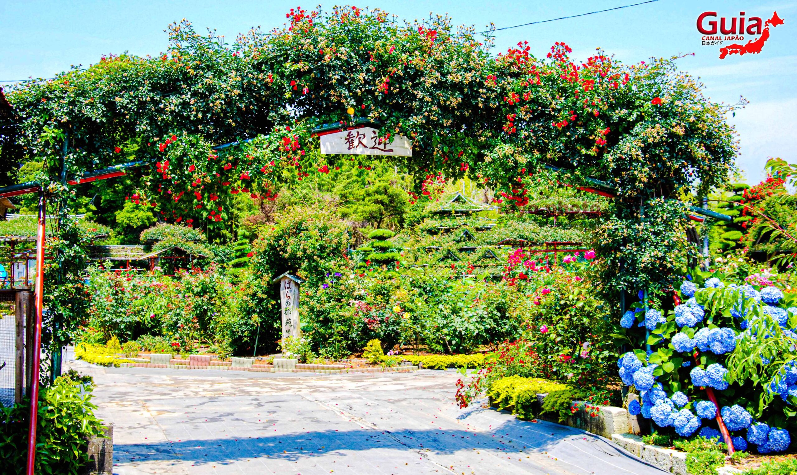 Jardim de Rosas - Bara no Miyako-en 9