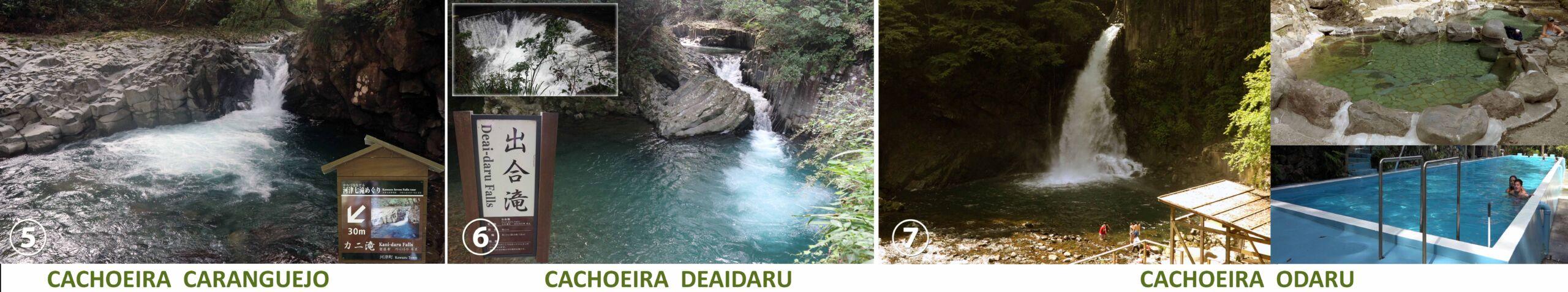 7 Cachoeira de Kawazu Nanadaru - 河津 七 滝 2
