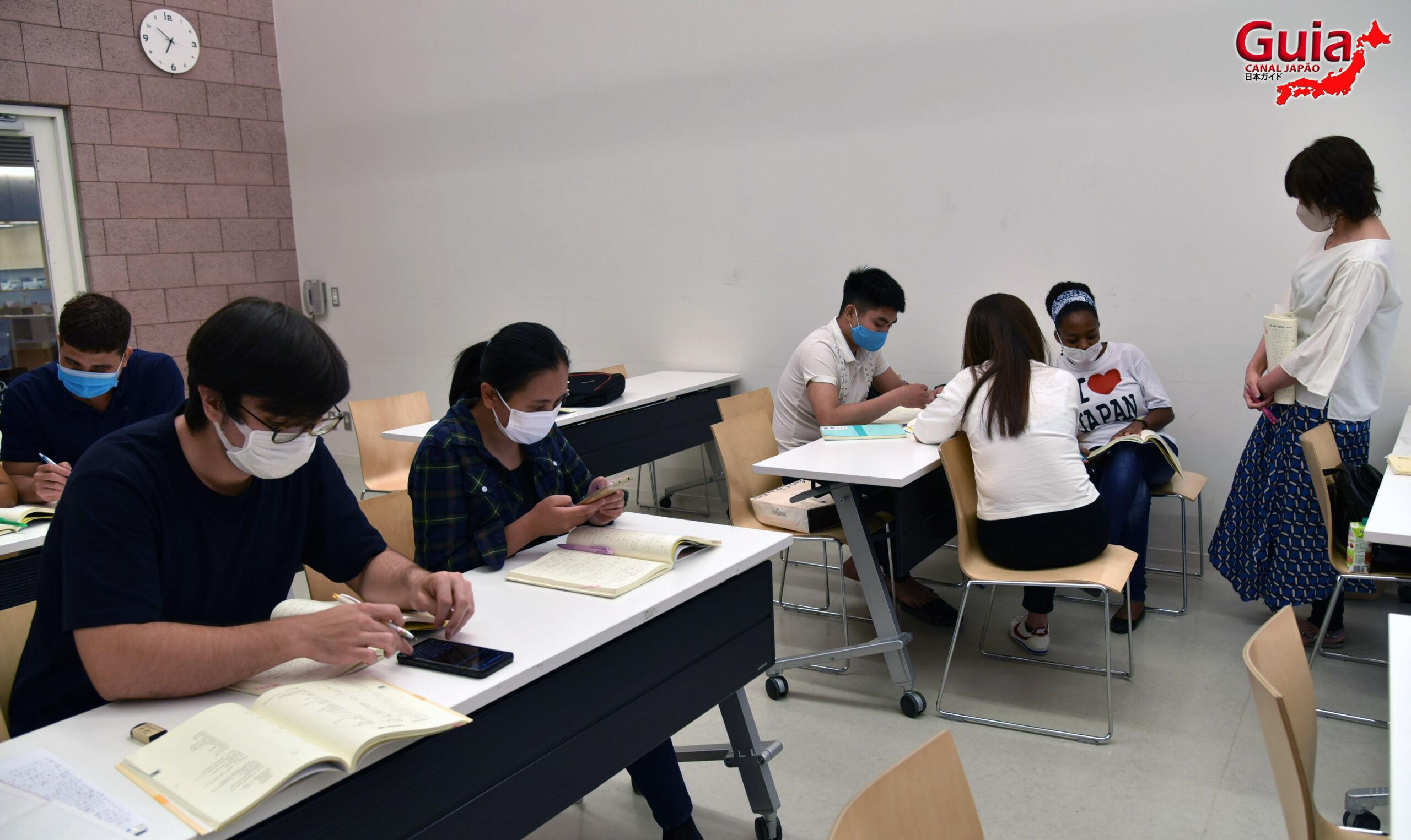 Curso de Japonês da Associação de Intercâmbio Internacional da cidade de Gifu 7