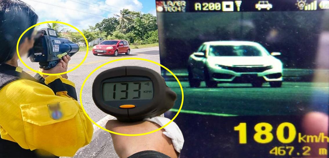 Japão aumenta monitoramento de violações de velocidade usando Radar Portátil 2