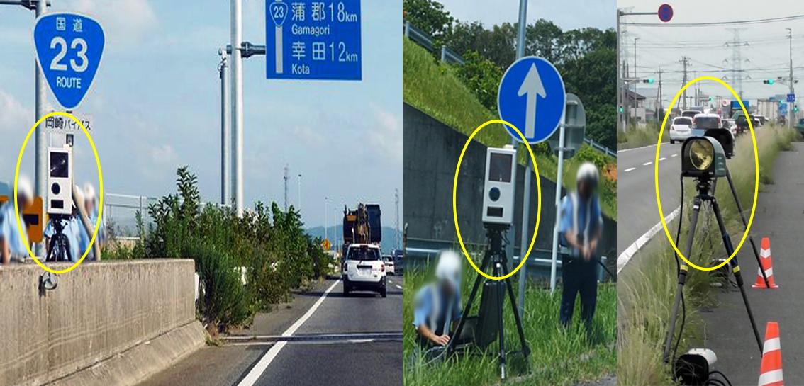 Japão aumenta monitoramento de violações de velocidade usando Radar Portátil 3